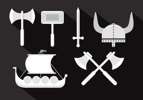 Illustrazioni di vettore di Viking