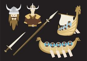 vettore di leggenda viking