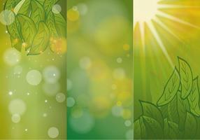 Vettori Hijau di sfondo verde