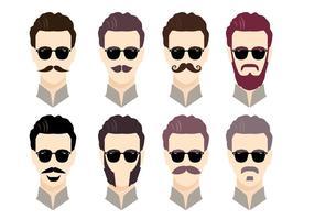 Vettore di Movember