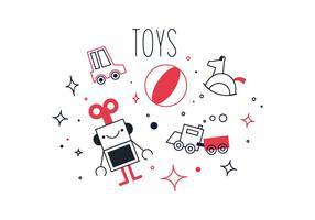 Vettore di giocattoli gratis