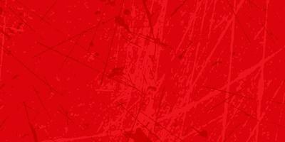 bandiera rossa di struttura del grunge vettore