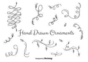 Ornamenti Set vettoriale