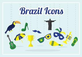 Raccolta di vettore del Brasile