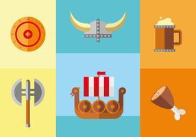 Vettore dell'illustrazione di età di Viking