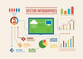 Infografica vettoriale gratis