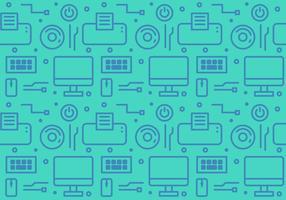 Gadget e tecnologia vettoriali gratuiti Pattern # 1