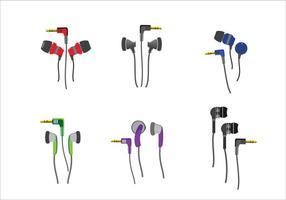 Vettore del telefono dei germogli dell'orecchio