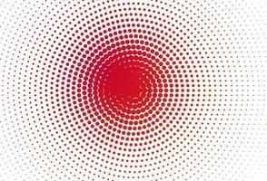 moderno cerchio concentrico punteggiato di sfondo