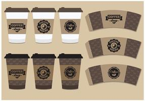 Manica del caffè Mock Up
