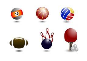 Palla icone vettoriali