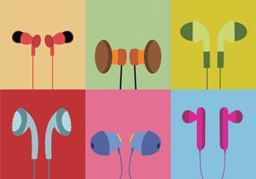 Vari orecchio germogli vettoriale