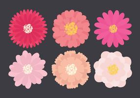 Raccolta di fiori vettoriali