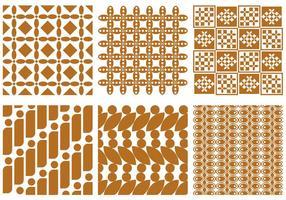 vettore batik
