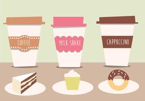 caffè gratis vettoriale