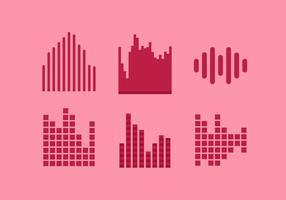 barra audio vettoriale