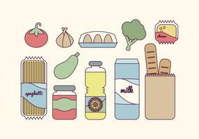 Generi alimentari di vettore