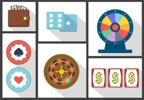 Collezione Wheel of Fortune vettore