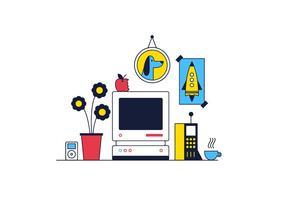 Vettore desktop gratuito