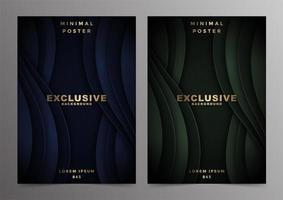 design di lusso minimal wave minimal cover