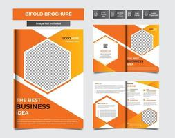 brochure facile da modificare vettore