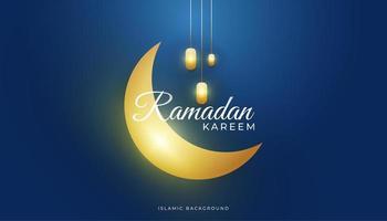 sfondo di ramadan di lusso