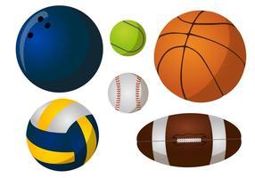 Pacchetto di palloni vettore