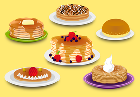 Vettore di pancake