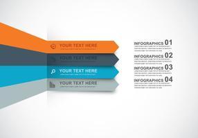 Infografica disegno vettoriale
