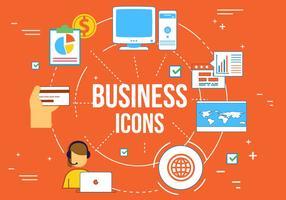 Vector elementi Web aziendali