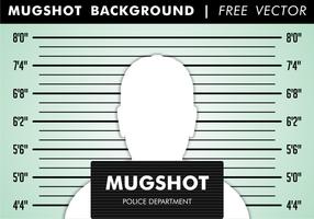 Vettore libero del fondo di mugshot