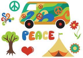 Vettori hippy gratuiti