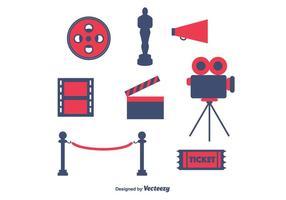 Vettore gratuito di cinema