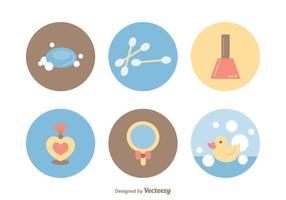 Icone vettoriali gratis di bellezza