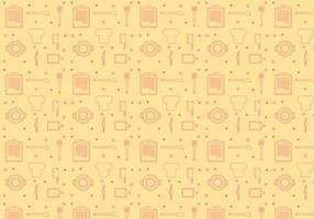 Scheda grafica di ricette vettoriali gratis 2