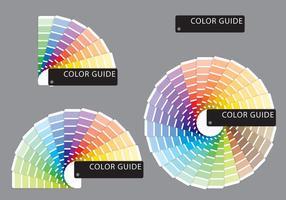 Campioni di colori dei campioni vettore