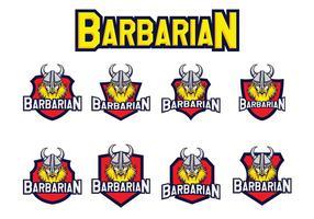 Barbarian Vector gratuito