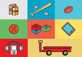 Icone vettoriali gratis per bambini