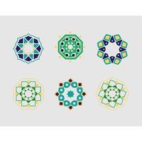 ornamento del modello islamico ramadhan