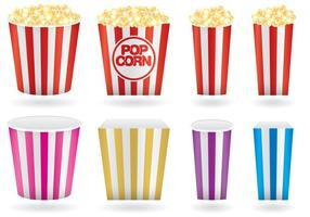 Scatole di popcorn