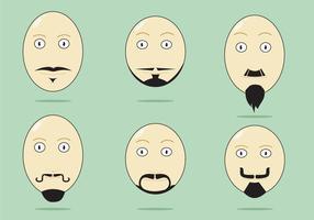 Vettore di eventi di Movember