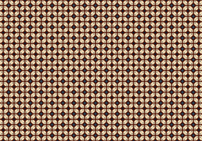 Vettore del fondo del batik di Java