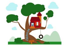 Vettore Treehouse gratuito