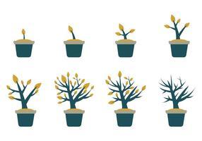 crescere gratis vettore vegetale