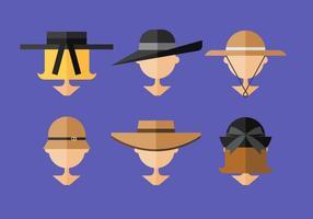 Cappello da donna vettoriale