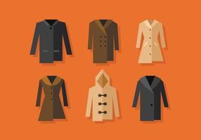 cappotto invernale vettoriale