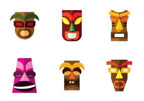 vettore di maschera hawaii