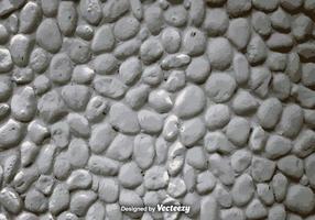 Vettore realistico muro di pietra bianca