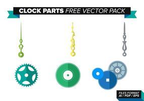 Orologio parti vettoriali gratis