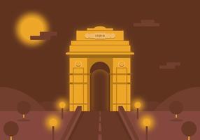 Porta dell'India vettoriale